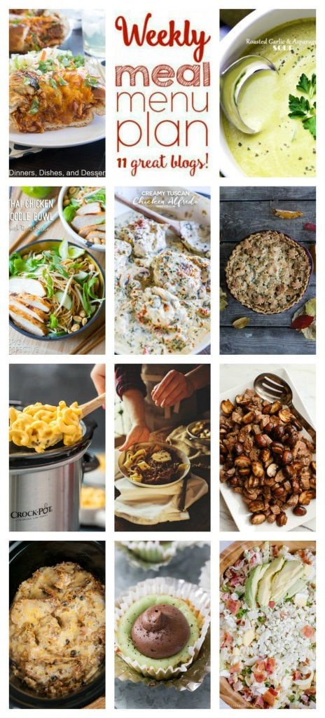 Collage of different meal ideas