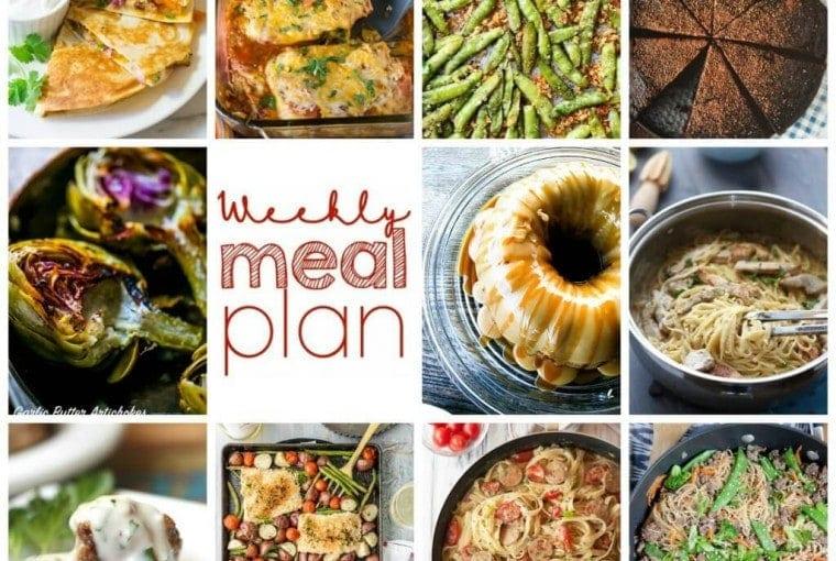 Weekly Meal Plan #57