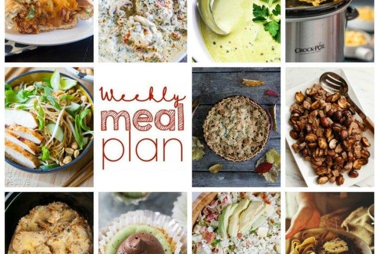 Weekly Meal Plan #58