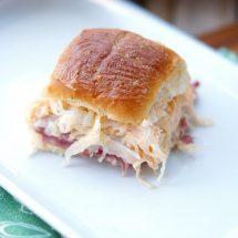 Reuben Slider Sandwiches