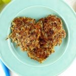 These Vegan Potato Pancakes are the perfect Valentines Day breakfast for your love.