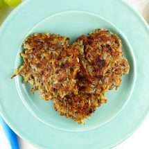 Vegan Potato Pancakes (Latkes)
