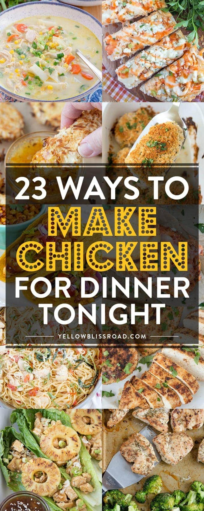 23 ways to make chicken breasts for dinner tonight for Something different to eat tonight