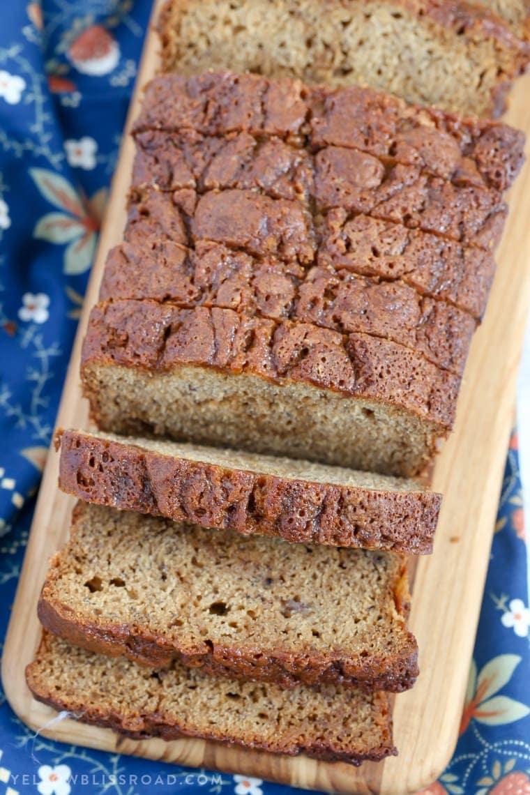 Caramel Banana Bread Quick Bread Recipe National