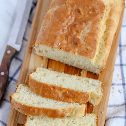 Parmesan Garlic Herb Quick Bread