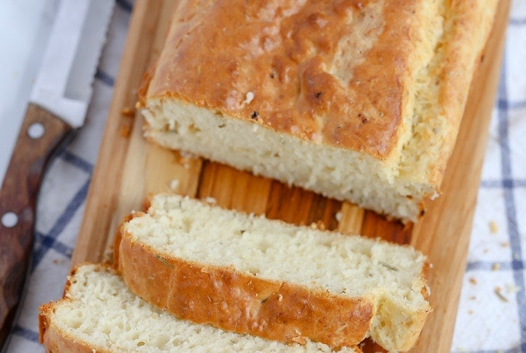 Parmesan Garlic Herb Quick Bread