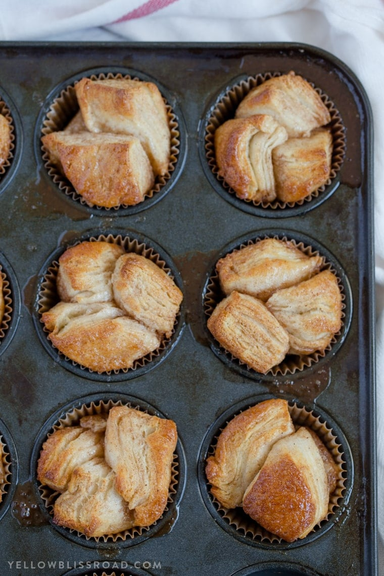 These Monkey Bread Muffins are a sweet breakfast treat that will go perfect with your morning coffee. Easy to make, and even easier to enjoy!