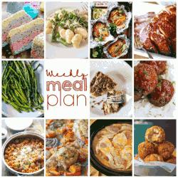 Weekly Meal Plan #61