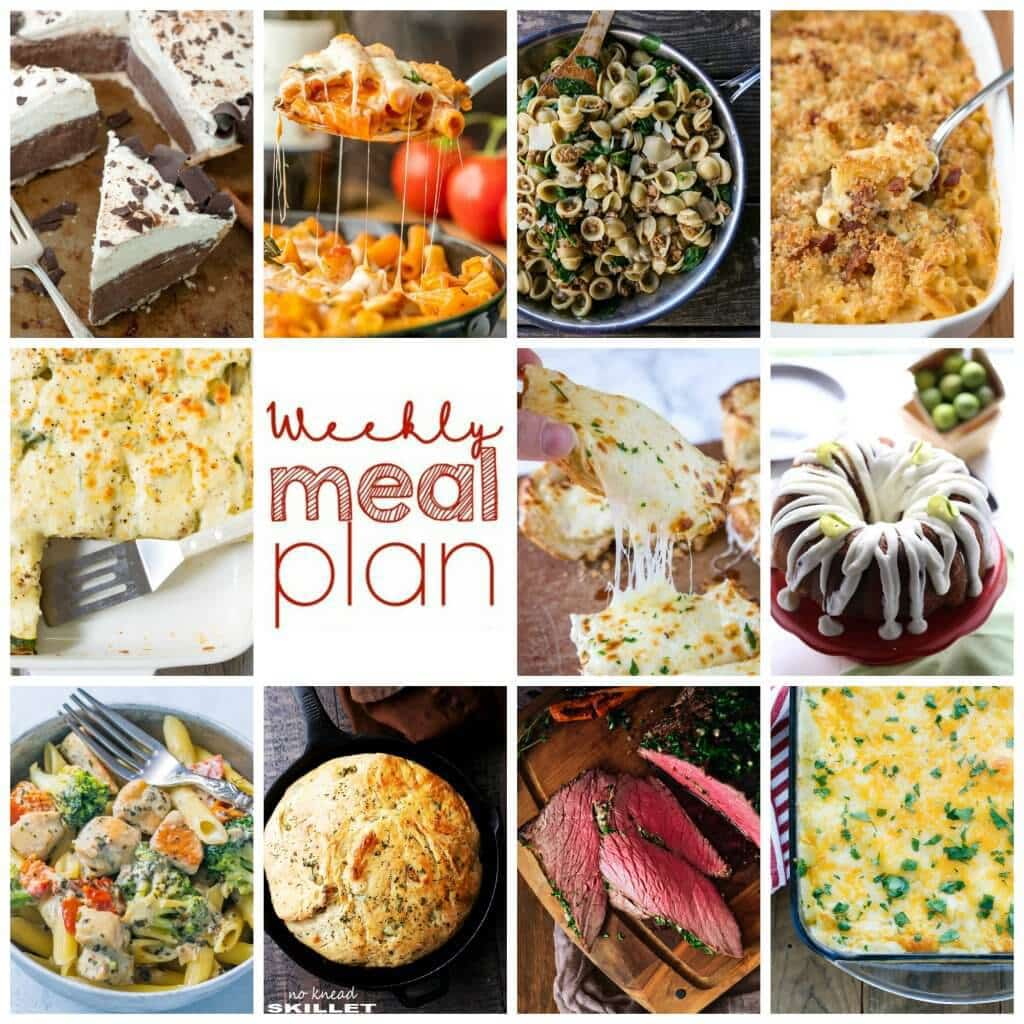 Time once again for our fabulous Weekly Meal Plan Week - 11 great bloggers bringing you a full week of recipes including dinner, sides dishes, and desserts!