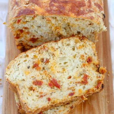 A loaf of pizza bread