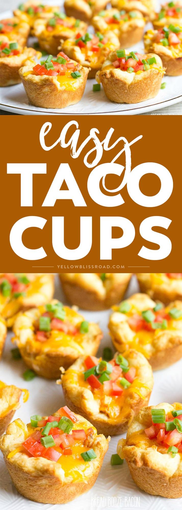 Social media image of Taco Cups