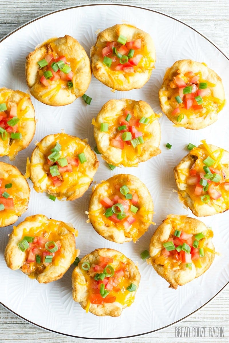 Taco Cups are an easy to make appetizer perfect for all your parties! Customize them with your favorite flavors for a bite you can't resist!