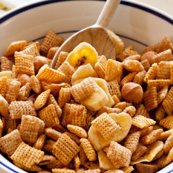 Social media image of Tropical Chex Mix