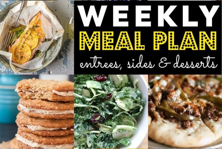 Weekly Meal Plan #63