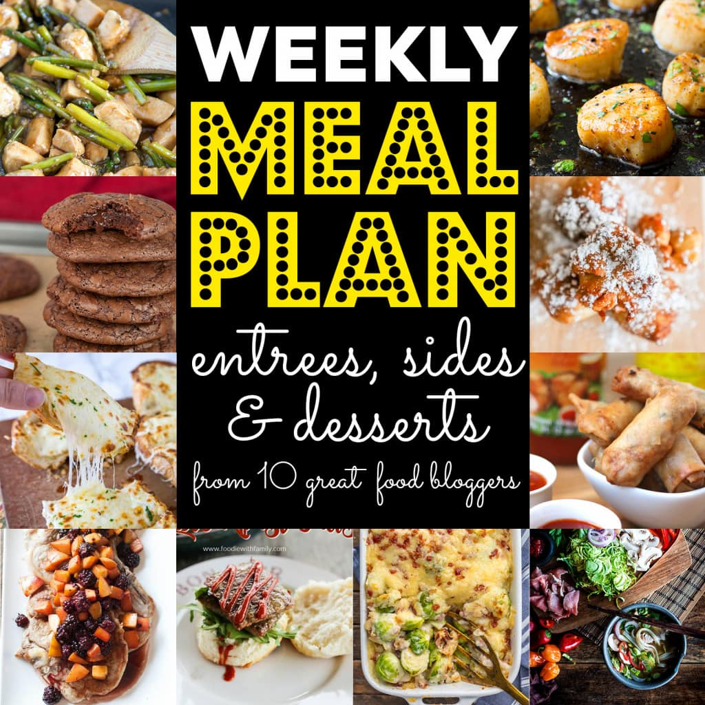 Image of Weekly Meal Plan