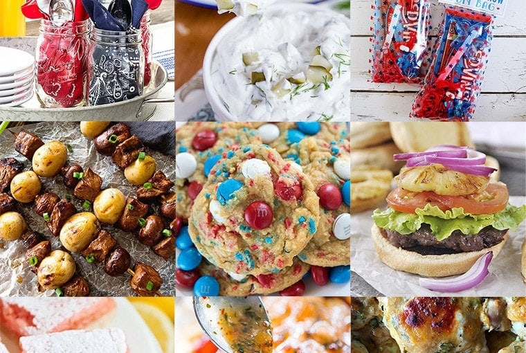 Fourth of July Patriotic Meal Plan