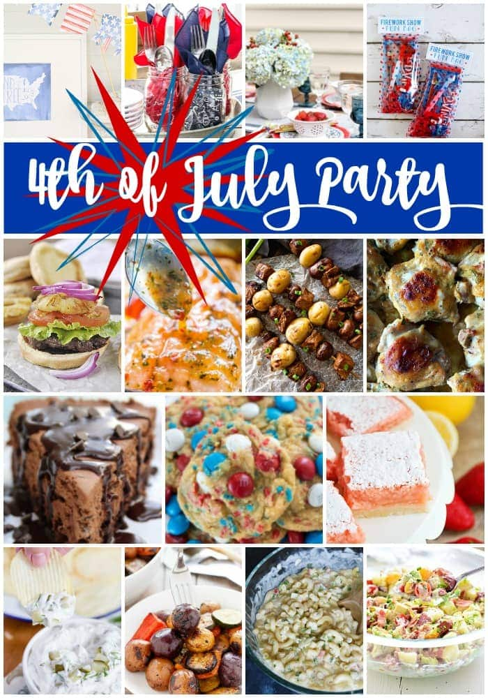Social media image for 4th of July Party