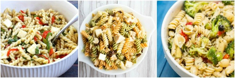 A dish of pasta