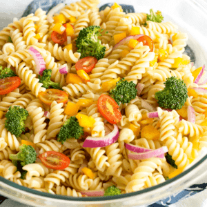 This Easy Vegetable Pasta Salad Is One Of My Go To Summer Recipes It