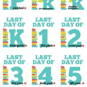 Last Day of School Photo Signs & Interviews