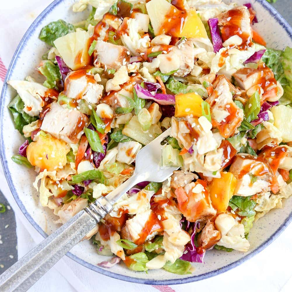 Pineapple Chicken Salad - 4 Step-by-Step Recipes 20