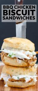 A close up of a BBQ chicken sandwich