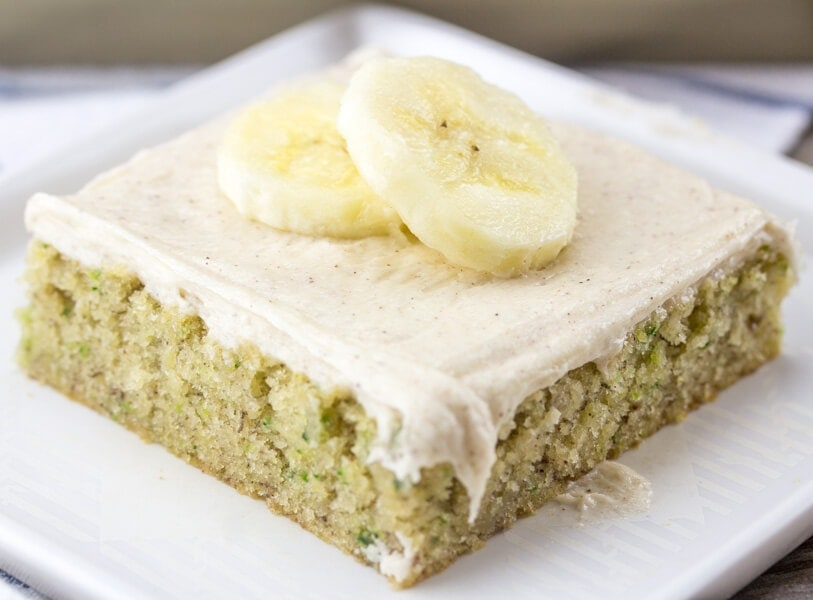 Easy Zucchini Sheet Cake