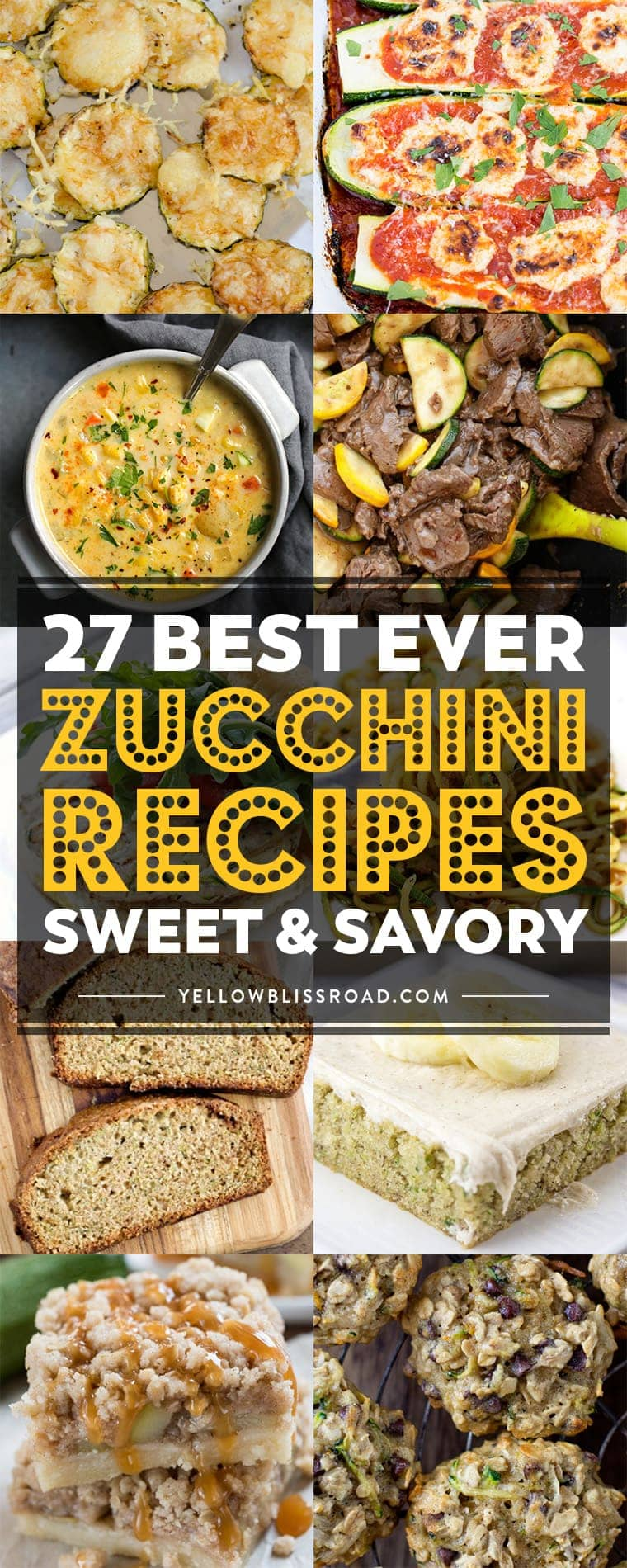 Best Ever Zucchini Recipes