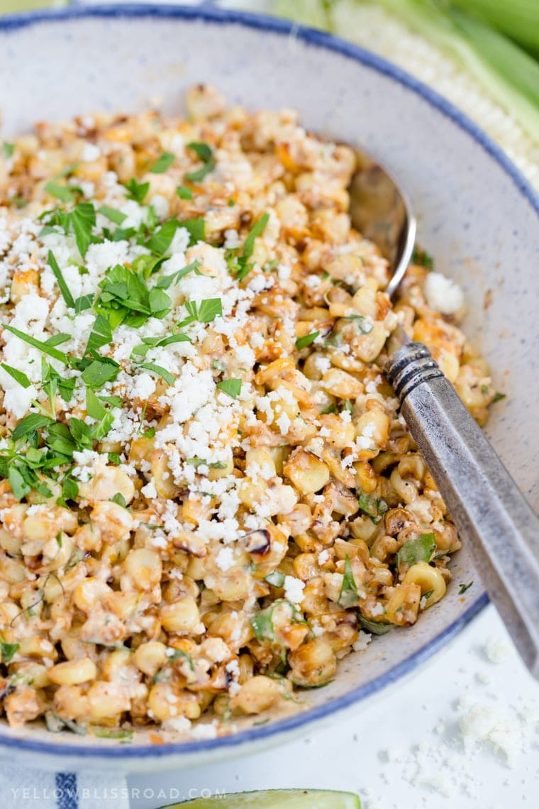 Creamy Mexican Street Corn Salad Easy Summer Side Dish