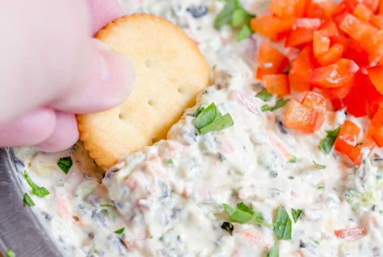 Creamy Ranch and Vegetable Dip