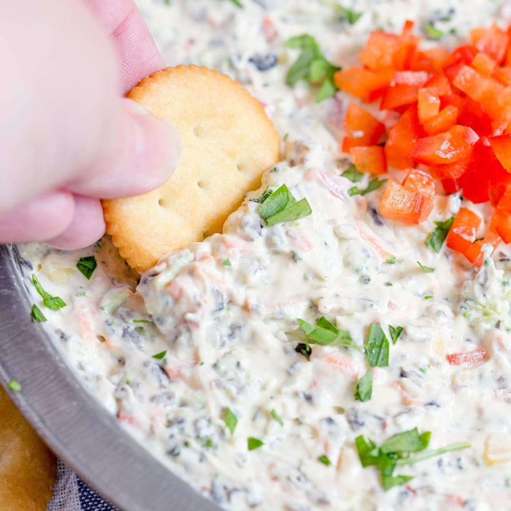 Creamy Ranch and Vegetable Dip | aka Poolside Dip