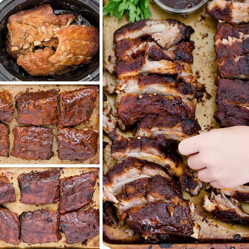 baby back ribs slow cooker cooker baby back ribs fall the bone tender 30911
