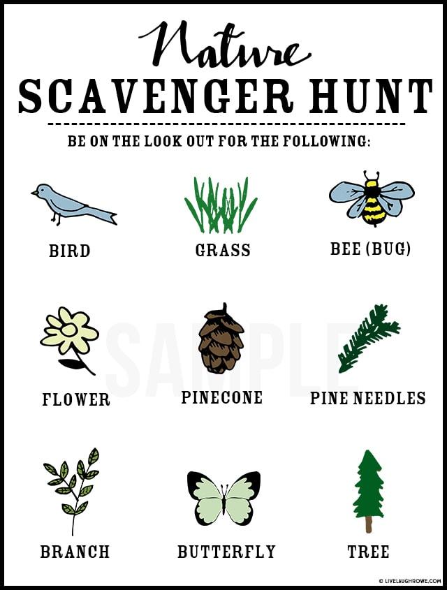 An image of Scavenger Hunt for kids