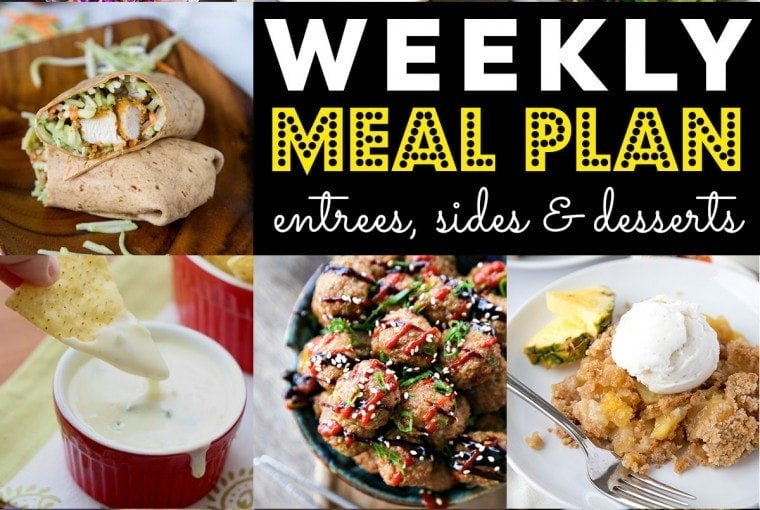 Weekly Meal Plan #70