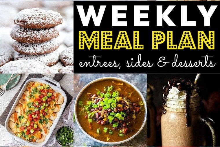 Weekly Meal Plan #72