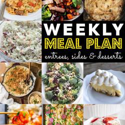 Weekly Meal Plan #73