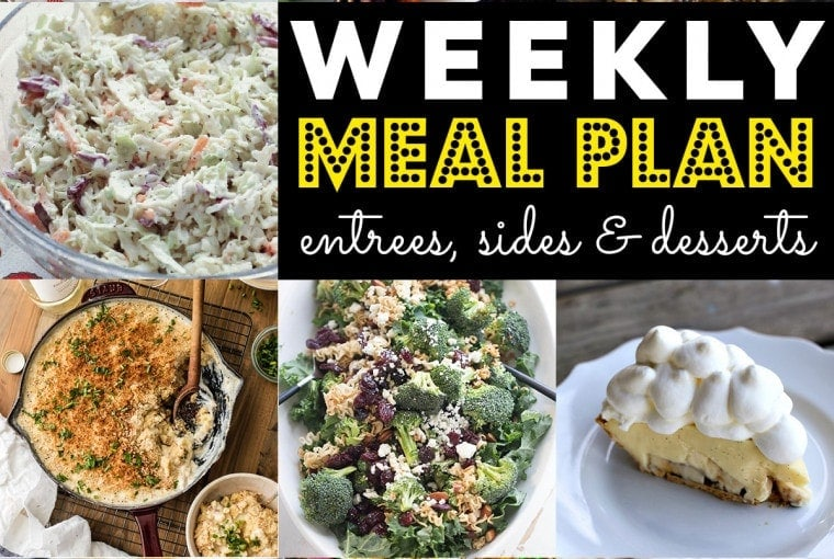 Weekly Meal Plan #73