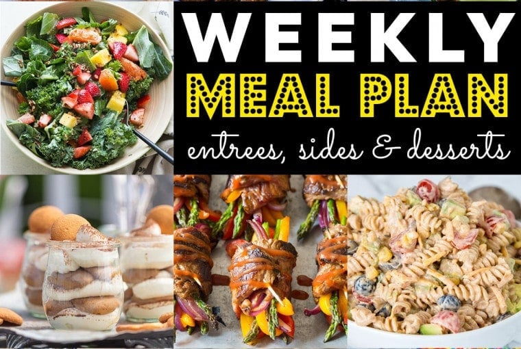 Weekly Meal Plan #74