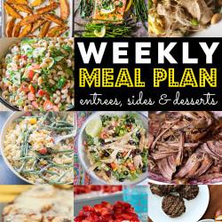 Weekly Meal Plan #75