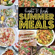 27+ Light and Fresh Summer Meals