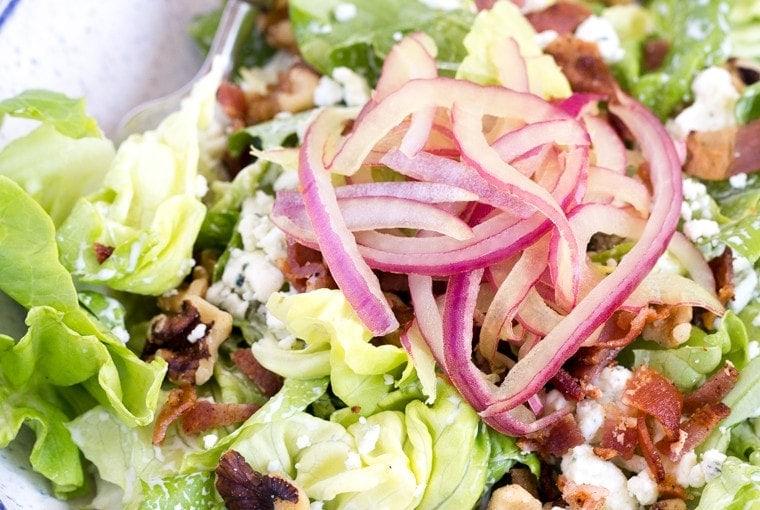 Bib & Blue Salad (Macaroni Grill Copycat)