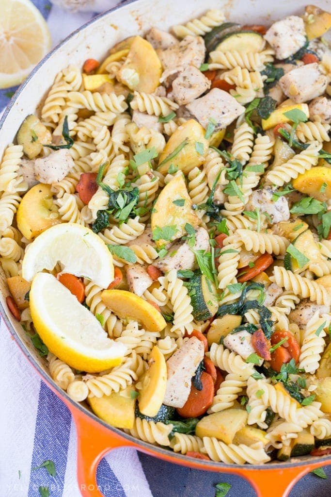This Garlic En And Vegetable Pasta Is My New Go To For Quick Meal Prep
