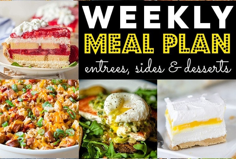 Weekly Meal Plan #76