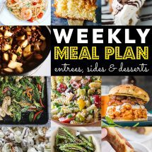 Weekly Meal Plan #77