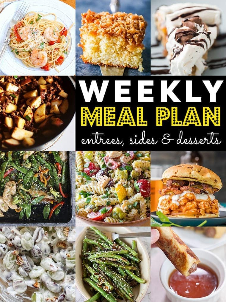 """Image of \""""Weekly Meal Plan\"""""""