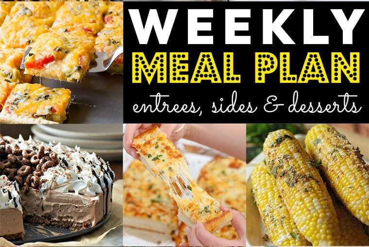 Weekly Meal Plan #78
