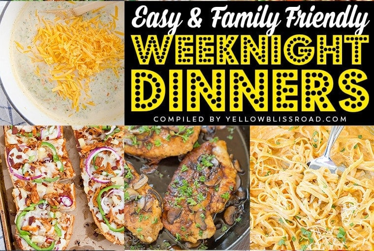 26 Easy Weeknight Meals for Busy Families