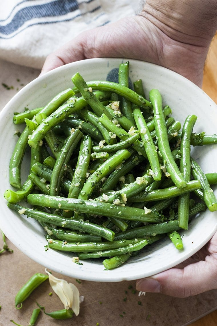 Garlic Green Beans from The Life Jolie