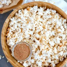 Cajun Popcorn and Homemade Cajun Seasoning