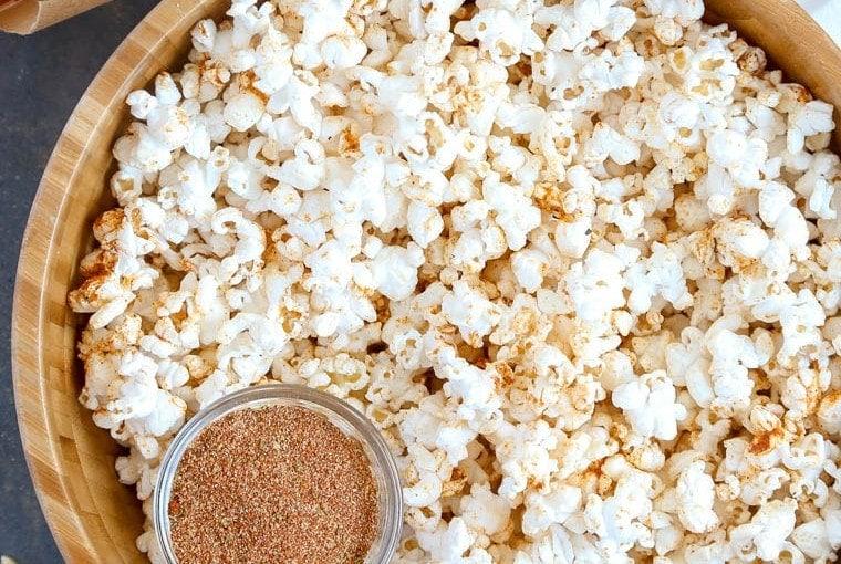 Cajun Popcorn and Homemade Cajun Seasoning